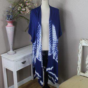 Woven Heart Kimono Wrap NWT